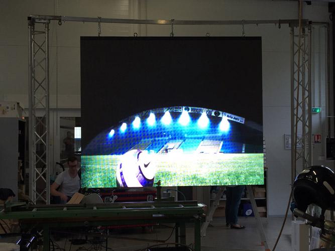 indoor screen led squaretech