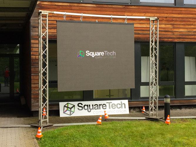 outdoor screen led squaretech