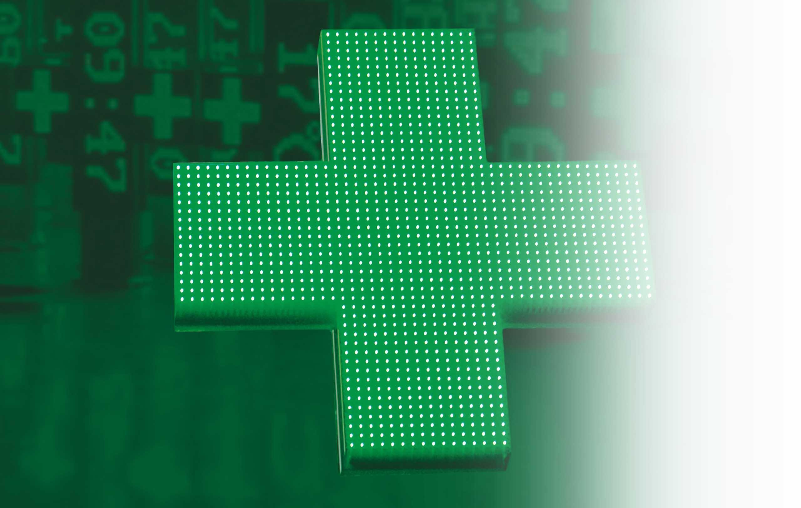 croix pharmacie led nouvelle génération lorraine