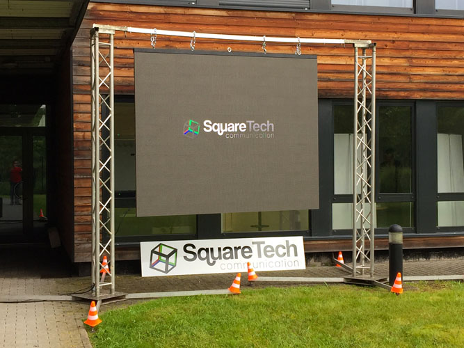 écran outdoor led squaretech france