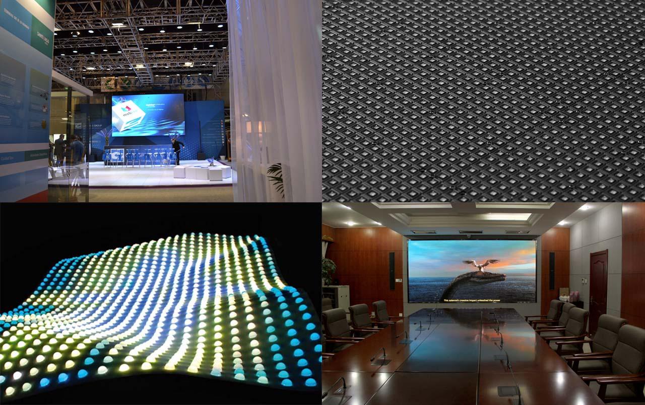 stand exposition écrans led entreprises